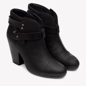 Rag & Bone Harrow Boot, Black Leather.